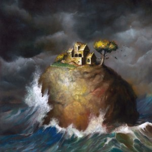 "Esao Andrews ""Sea Villa"" - 12x12 inches - oil on panel (2011)"