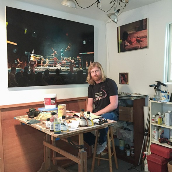 Seth Armstrong Studio Visit