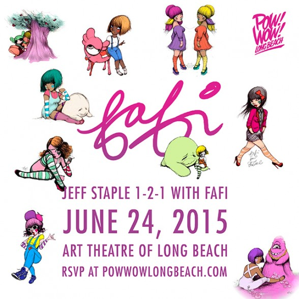 jeff staple 1-2-1 with Fafi