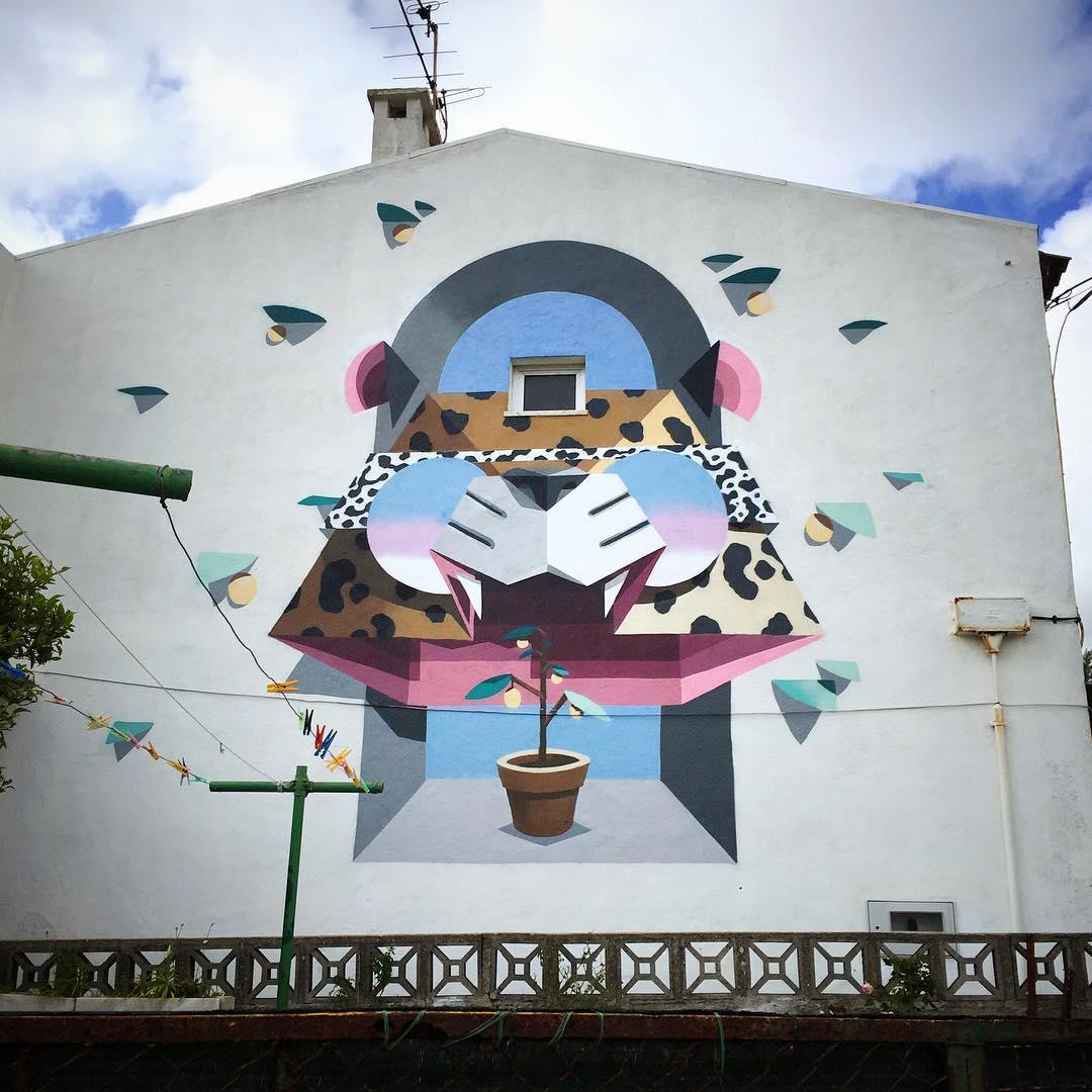 Low Bros Murals in Portugal