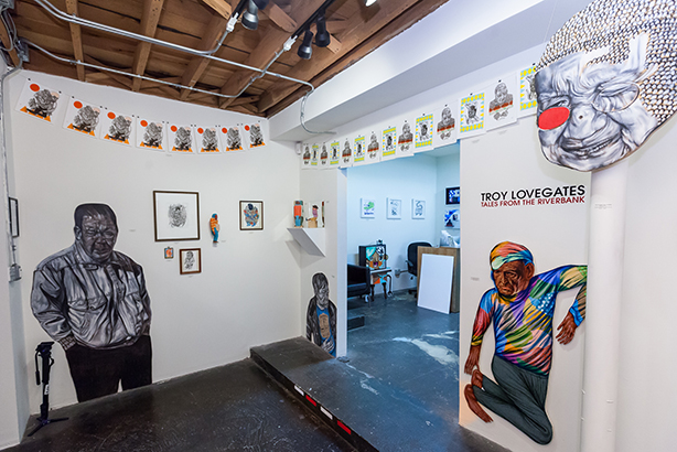 toy lovegates at Thinkspace Gallery